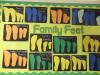 family feet display