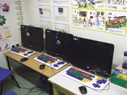 Computers with assistive technology